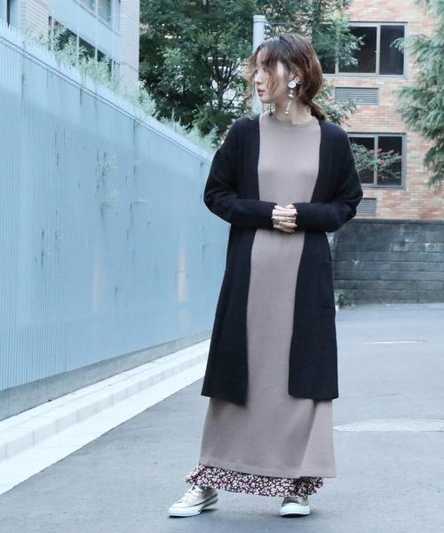 出清 長版 針織 開襟外套 柔滑V領  日本品牌【coen】