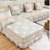 防滑歐式沙發墊布藝四季通用型組合冬季沙發套全包萬能套巾罩全蓋 qf11654【小美日記】