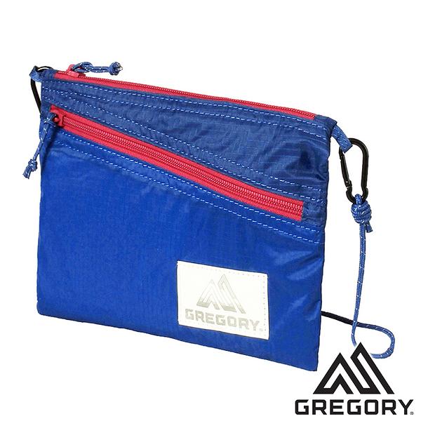 【美國 GREGORY】SACOCHE LT 輕量斜背包 1.5L『藍/紅』85410 登山 露營 休閒 旅遊 戶外 側背包