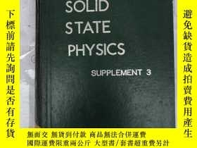 二手書博民逛書店solid罕見state physics supplement