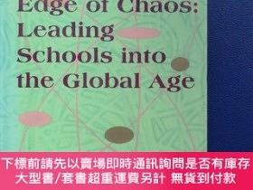 二手書博民逛書店生活在混沌邊緣:引領學校步入全球化時代罕見[Living on the Edge of Chaos Leading