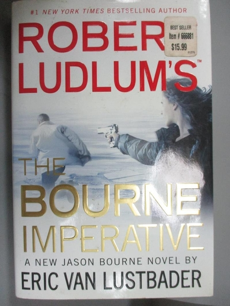 【書寶二手書T1/原文小說_XGB】Robert Ludlum's The Bourne Imperative_Lustbader, Eric