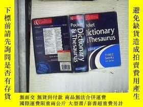 二手書博民逛書店Collins罕見Pocket Dictionary & The