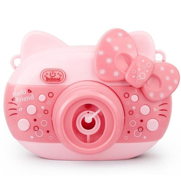 泡泡機兒童全自動抖音同款泡泡槍照相機網紅少女心吹泡泡水補充液 滿天星