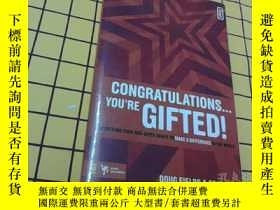 二手書博民逛書店CONGRATULATIONS...YOU RE罕見GIFTED