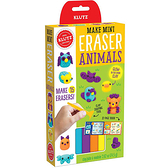 [KLUTZ] Mini Eraser Animals DIY橡皮擦-夜光動物版(橡皮擦製作/捏塑創作)