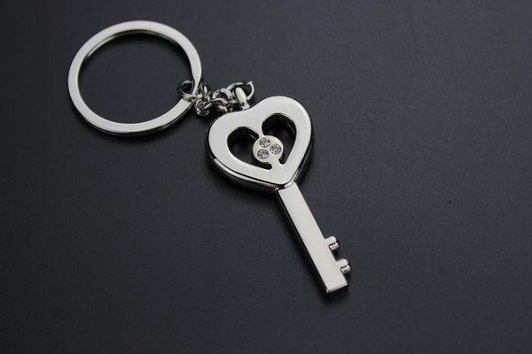 愛心 鑲鑽 心型 鑰匙扣 鑰匙圈 情侶鑰匙圈 合金鑰匙圈 GOGORO鑰匙圈 喜美鑰匙圈 1154