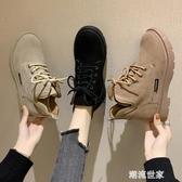 英倫風馬丁靴女2020春秋單鞋新款短靴女百搭學生單鞋網紅瘦瘦靴子『潮流世家』