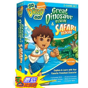[美國直購 ShopUSA] Nickelodeon Go Diego Go: Great Dinosaur Rescue by Nova Development US $1221