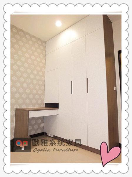 【歐雅系統家具】衣櫃+化妝桌整體設計 原價 83090 特價 58163