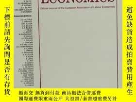 二手書博民逛書店LABOUR罕見ECONOMICS 2019年4月 英文版Y42402