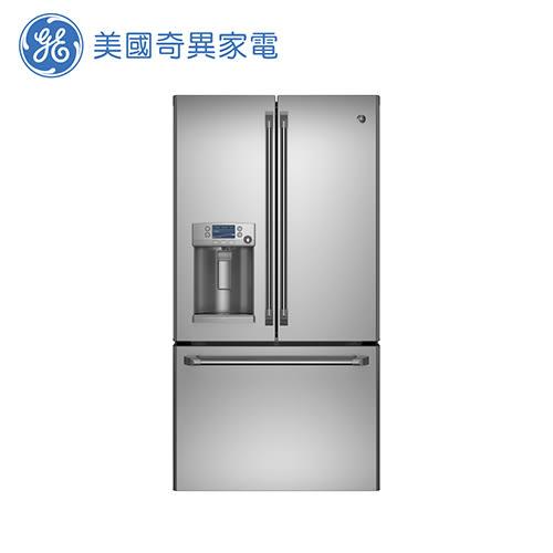 [GE 美國奇異家電]810公升不銹鋼法式三門薄型冰箱 CFE28TSSS