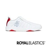 ROYAL ELASTICS ICON2.0 白紅真皮潮流運動休閒鞋 (女) 96502-018
