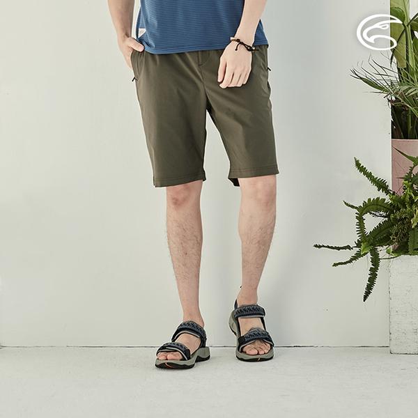 ADISI 男COOLMAX彈性抗汙撥水休閒短褲AP2111176 (S-2XL) / 防潑水 吸濕排汗 速乾 快乾 輕薄透氣 休閒褲