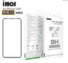 【IMOS】iPhone11 5.8 6.1 6.5吋 3D美觀滿版玻璃(黑邊) 美商康寧公司授權 (AG2bC)