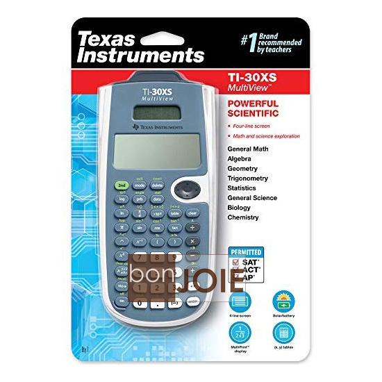 ::bonJOIE:: 美國進口 德州儀器 Texas Instruments TI-30XS 計算機 (全新封裝) TI30XS Multiview