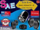 盛昱音響 #法國 Focal Sib Evo Dolby Atmos 5.1.2 全景聲家庭劇院喇叭組合 #有現貨