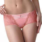 LADY 華麗樂園系列 中低腰平口褲(粉光橘)