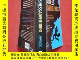二手書博民逛書店Business罕見Adventures: Twelve Classic Tales from the World