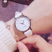 手錶 2018新款手錶女中學生韓版簡約小清新百搭女式防水時尚款潮流女生 芭蕾朵朵