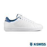 K-Swiss Clean Court CMF休閒運動鞋-男-白/藍