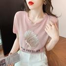 大碼圓領短T短袖t恤女裝寬松韓版上衣服MB127 0153 胖妹大碼女裝