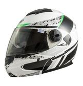 THH T797 T-797A+ 內襯全可拆洗 雙層鏡片 遮陽鏡片 可樂帽 全罩 安全帽 勝利女神 白黑綠