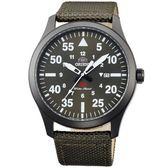 【台南 時代鐘錶 ORIENT】東方錶 FUNG2004F SP系列 飛行運動石英錶 尼龍錶帶 42mm