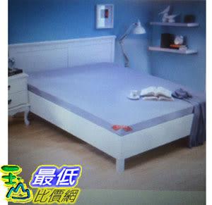 [COSCO代購 如果沒搶到鄭重道歉] CASA 雙人摺疊式加厚彈力棉床墊 150 x 186 x 8 公分 W111403