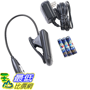 [美國直購] Maven Gifts LED書燈 3071_MIGHTY-BRIGHT-SET Xtraflex2 Led Book Light Black
