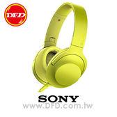 (預購)SONY MDR-100AAP (黃色) 智慧型手機 線控 耳罩式耳機 支援 Hi-Res 音源 公司貨 內附原廠攜行袋