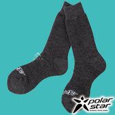 【PolarStar】羊毛保暖雪襪『暗灰』P17610 露營.戶外.登山.保暖襪.彈性襪.紳士襪.休閒襪