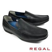 【REGAL】輕質樂福休閒鞋 黑色(56HR-BL)