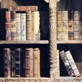 歐式復古仿真書假書道具書樣板房客廳軟裝飾品擺件辦公室書房擺設 3C優購