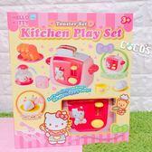 正版授權 HELLO KITTY KT 凱蒂貓 烤麵包機 扮家家酒 兒童遊戲組 切切樂 COCOS KT500