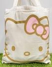 【震撼精品百貨】凱蒂貓_Hello Kitty~日本SANRIO三麗鷗 KITTY 手提包/側背包-米大頭#53094