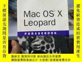 二手書博民逛書店MAC罕見OS X Leopard PhrasebookY153