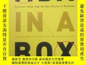 二手書博民逛書店MBA罕見in a Box Practical Ideas from the Best BraiY427935