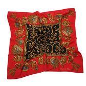 Christian Dior 華麗流蘇墜飾(大)領巾(紅色) 179017-1