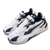 Puma 休閒鞋 RS-2K Von Dutch 白 藍 粉紅 男鞋 復古慢跑鞋 運動鞋 老爹鞋 【ACS】 37453201