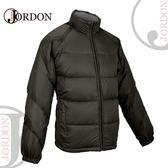 【JORDON 橋登 男 脫袖羽絨外套《黑灰》】 1073I/羽絨外套/羽絨背心/ 羽絨衣