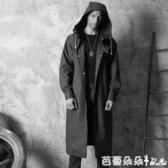 雨衣男女潮成人韓國時尚自行車騎行徒步抖音防雨長款風衣加大雨披『快速出貨』