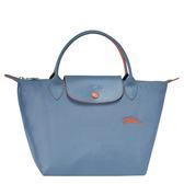 新款LONGCHAMP 1621 女士LE PLIAGE COLLECTION 系列織物小號手提單肩包購物袋