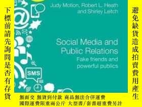 二手書博民逛書店Social罕見Media And Public RelationsY256260 Judy Motion R