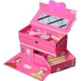 兒童禮物三層五層密碼文具盒韓版