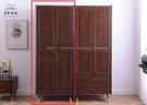 【新竹清祥傢俱】NBF-55BF03-北歐現代全實木雙門衣櫃 (無抽屜款) 開門衣櫃 全實木 收納櫃 臥室