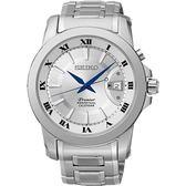 SEIKO 精工錶 Premier 羅馬風格 藍寶石水晶鏡面 石英錶 SNQ139J1 熱賣中!