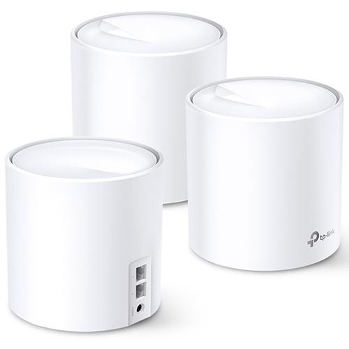 TP-Link Deco X20 WiFi 6 Mesh 無線路由器 (三入裝)