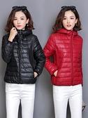 快速出貨 鋪棉外套 棉衣女士 秋冬季輕薄羽絨棉服韓版寬鬆學生短款小棉襖外套
