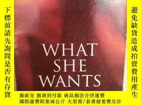 二手書博民逛書店Curtis罕見Pesmen:What She Wants A